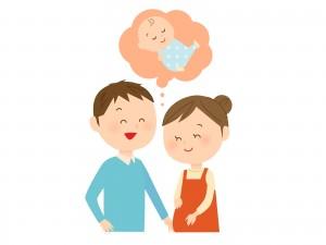 妊娠女性と夫
