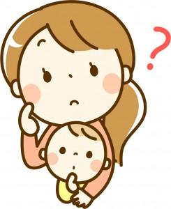 子供とお母さん?