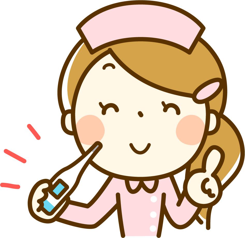 看護婦体温計